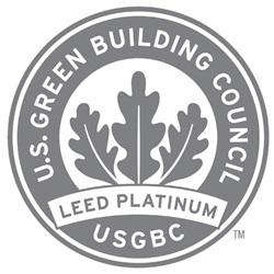 LEED Platinum certificate